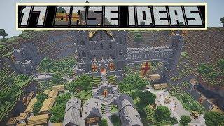 Minecraft | 17 Base Ideas