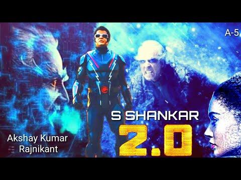 2pointO |2.0| फ़िल्म से सामने आया Akshay Kumar, Rajinikanth, Amy Jackson, का खतरनाक💥 Look.. | देखें-