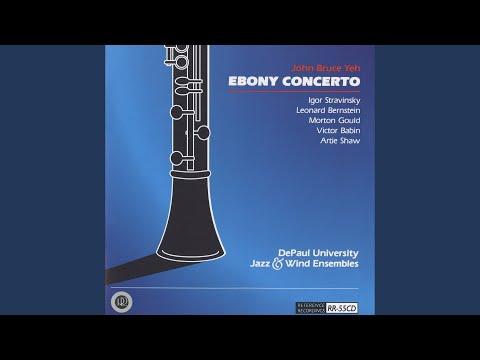 ebony concerto stravinsky score