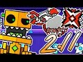 Geometry Dash 2.11 NEW UPDATE FEATURES + Changing My Icons