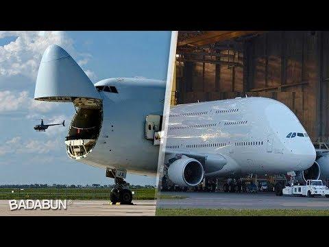 Los 11 aviones más grandes de la historia