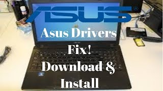 Asus Driver Download & Install! Fix Common Problems!