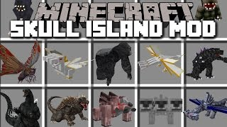 Minecraft SKULL ISLAND KING KONG MOD / PLAY WITH DIMENSIONS AND TRAVEL TO THE ISLAND!! Minecraft