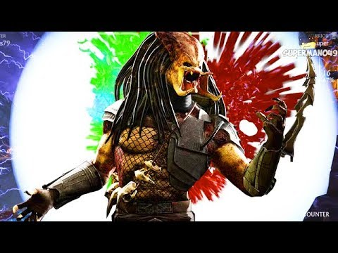 The Best Way To End A Match In MKX! - Mortal Kombat X: Predator Gameplay