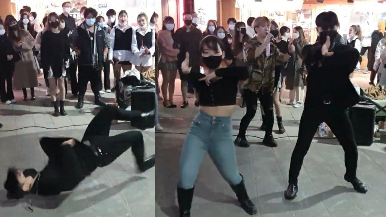 댄스팀 에너자이주(ENERGYJU)/ 뱅뱅뱅(BANG BANG BANG) - 빅뱅(BIGBANG) 홍대 댄스팀 에너자이주와 레드크루연합버스킹 20201114
