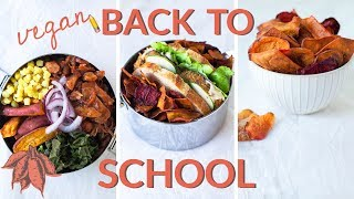 VEGAN LUNCH IDEAS   Amazing Back-to-School Recipes