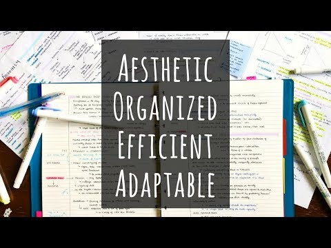 How to Create a Good Note Taking System for Your Needs! (1/3)