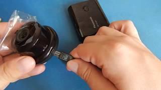 подключение и настройка IP-камера ESCAM Q6 Button from Gearbest