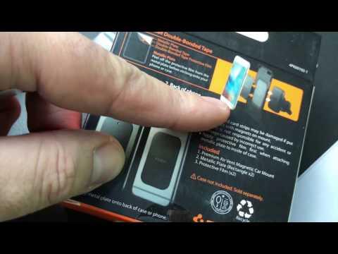free shipping 89d9f 0d13f Spigen Kuel A201 Car Mount Hexa Core Premium Magnetic Air Vent Phone ...