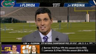 College Football Live: Playoff Pregame | Florida vs Virginia, LSU vs Clemson, Oregon vs Wisconsin