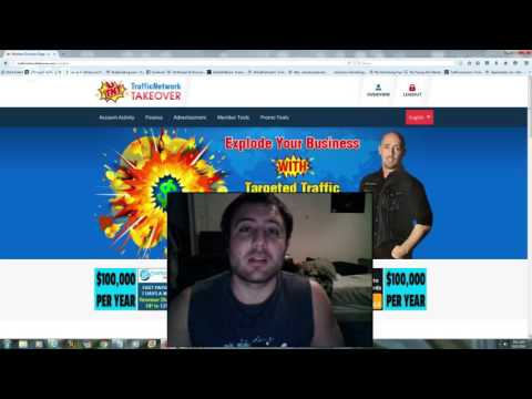 traffic network takeover revshare how to buy ad packs – review of tnt – mastering ads