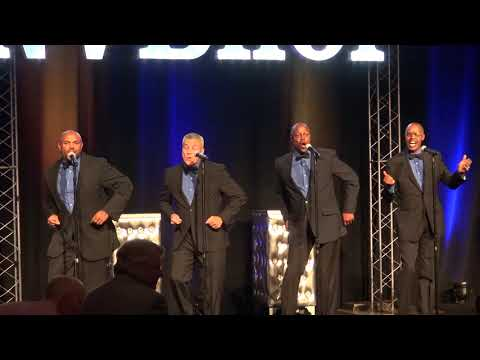 Boxing referees singing Motown classics at the Nevada Boxing Hall of Fame