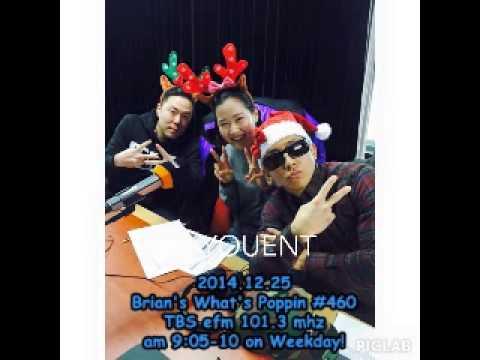 [Radio] 141225 TBS efm DJ Brian's What's Poppin #460