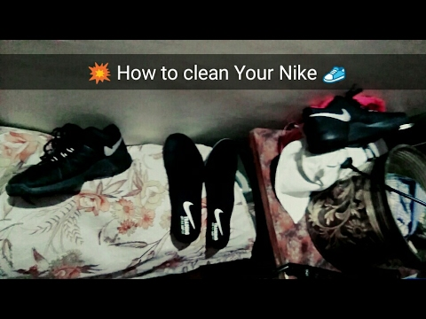 How to Clean Nike Shoes | Puma Shoes | Wash Nike shoes