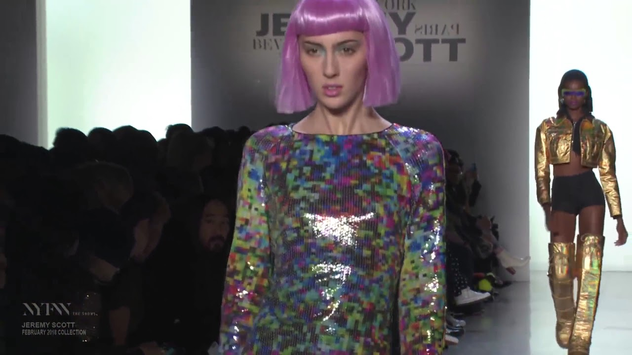 images Jeremy Scott Fall 2019 Collection at NYFW