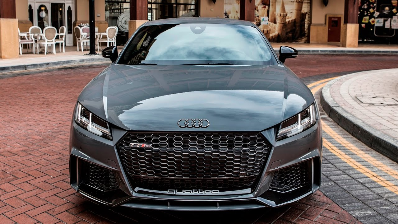 2017 New Audi Tt Rs Coupe 400hp 5cyl Nardo Gray Launch Control Driving Exterior Interior