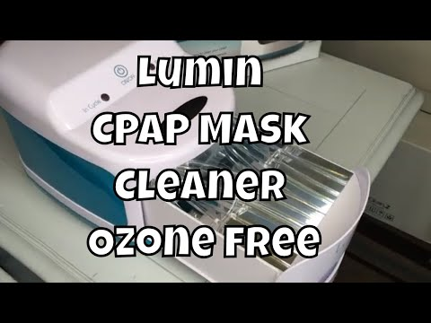 Lumin CPAP Cleaner for Mask, Ozone Free [Sanitize Household Items Too]