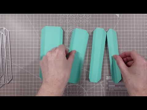 Mini Album Hinge & Binding Die Set Demo | Simply Made Crafts By Helen Griffin
