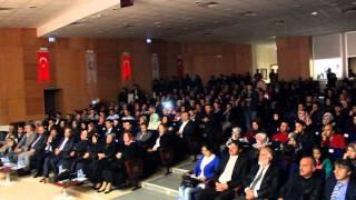 Mşü Alparslan Üniversitesi Kutlu Doğum Konserimizden kareler 2