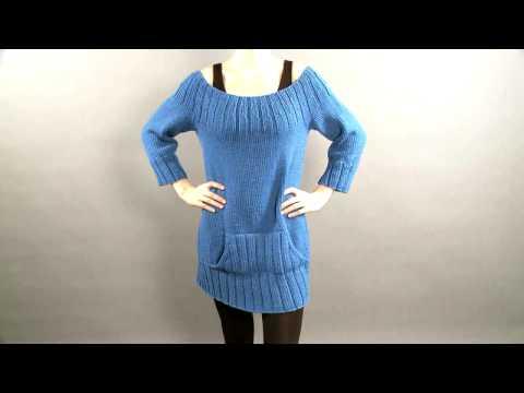 #30 Kangaroo Pocket Pullover, Vogue Knitting Holiday 2008