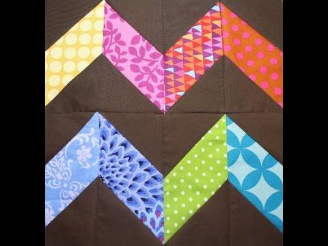 zig zag quilt pattern - YouTube : zig zag quilt - Adamdwight.com