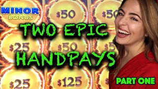 🐲 MASSIVE HANDPAY JACKPOT🐲 2 Epic Slot Machine Jackpots on Dragon Link!