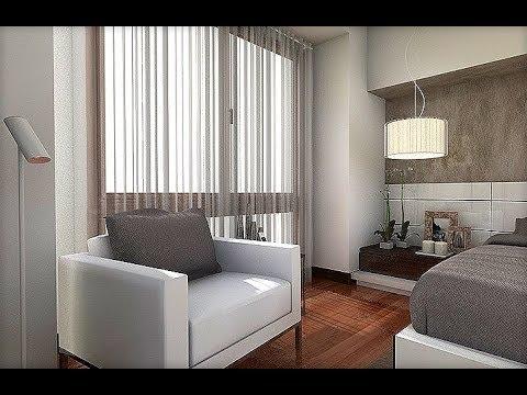Dise o interior dormitorio matrimonio 18 m2 youtube - Diseno dormitorio ...