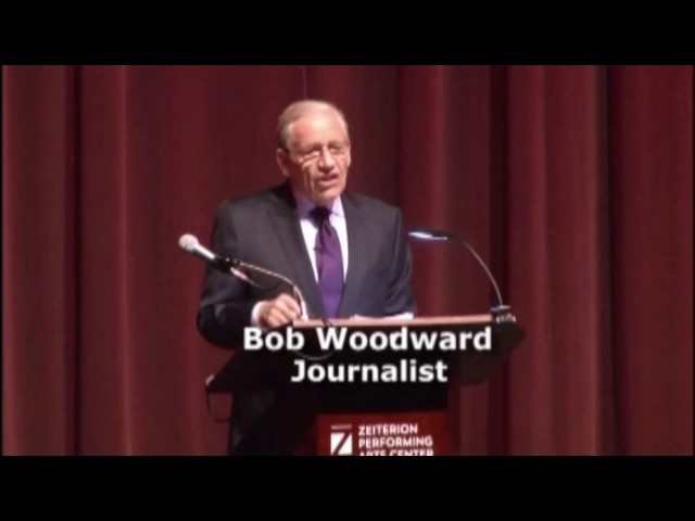 BOB WOODWARD: Interviewing Trump - How Trump Negotiates