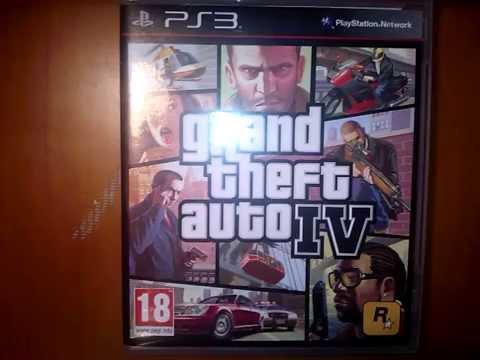 GTA IV Unboxing PL PS3 - YouTube