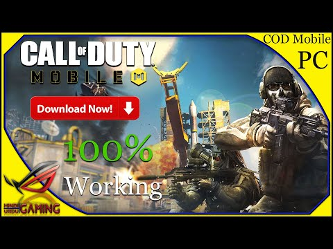 How To Download Call Of Duty Mobile For PC In Hindi Urdu