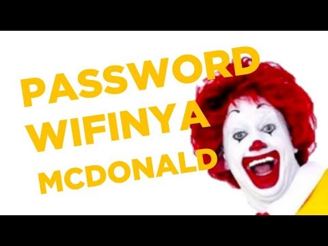 Password Wifi Mcdonald Super Kencang Guys Youtube