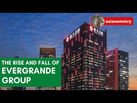 The Rise and Fall of China's Evergrande Group