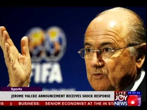 Jerome Valcke Announcement receives shock response