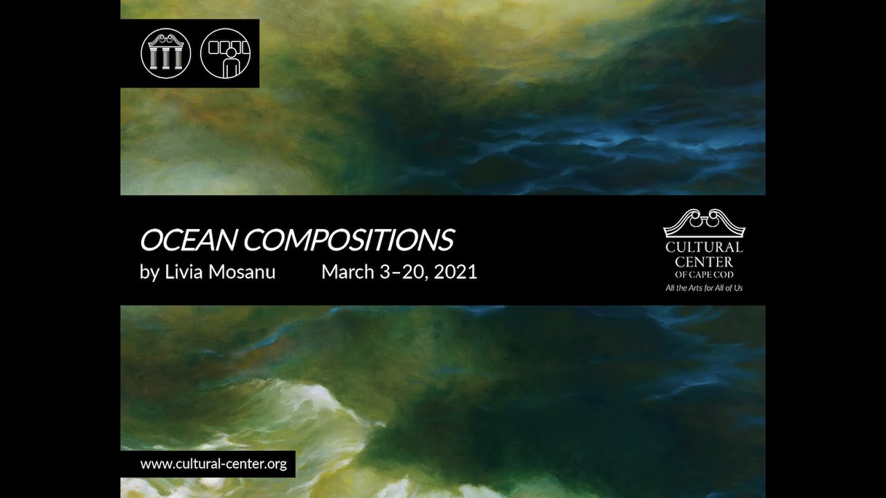 """Ocean Compositions,"" an Exhibition of Oil Paintings by Livia Mosanu"