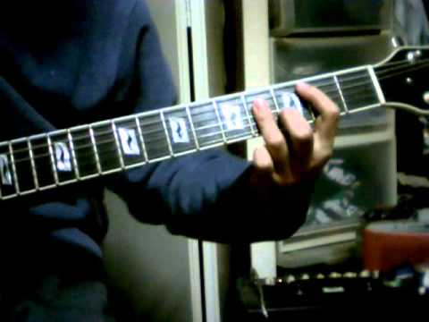 guitar demo Bill Nelson's Red Noise - Don't Touch Me(I'm Electric)