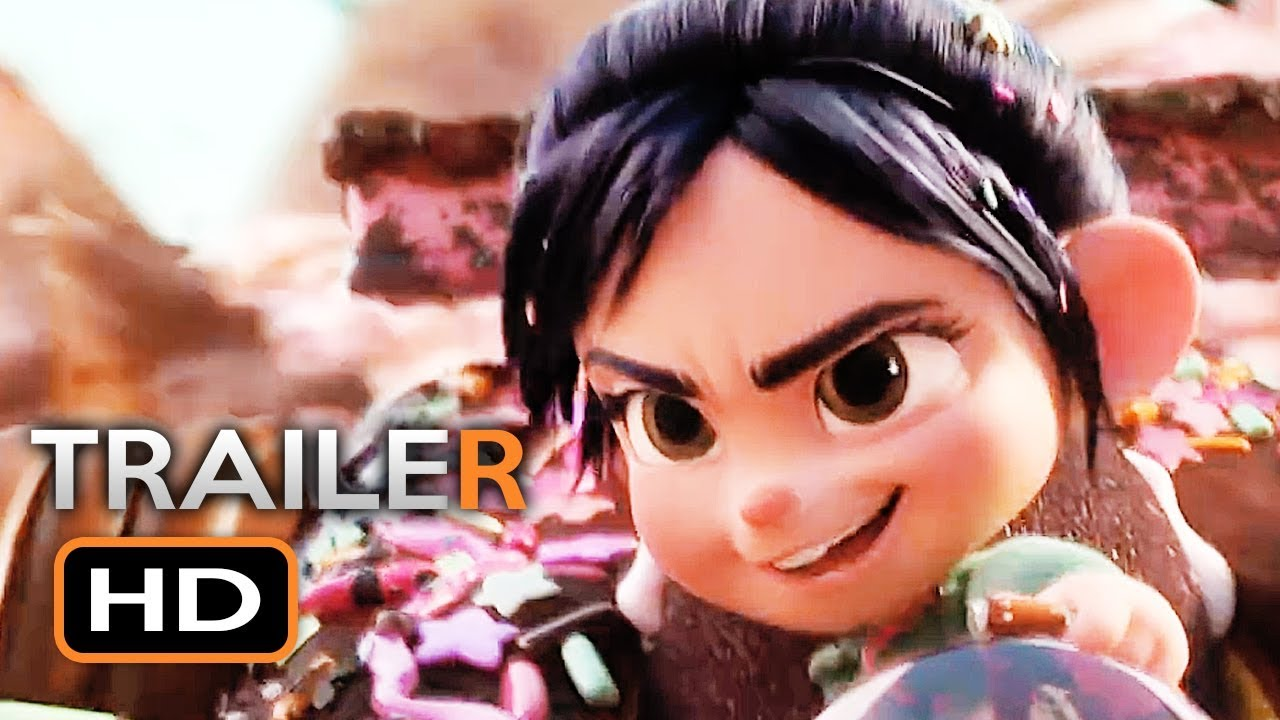 WRECK-IT RALPH 2 Official Trailer 3 (2018) Ralph Breaks ...