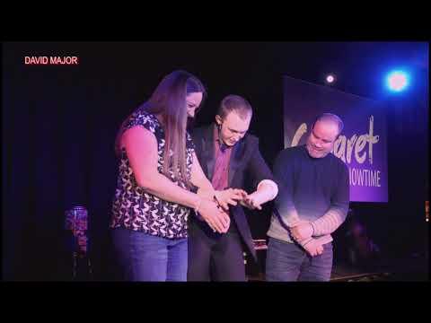 David Major - Fab Comedy Cabaret Magician based in Andover