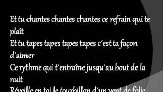 nuit de folie+lyrics.wmv