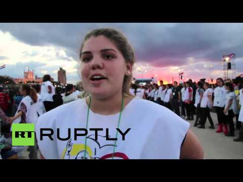 Paraguay: Thousands of youths attend Pope Francis' last Latin American tour appearance