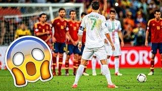 CRAZY CURVE FREE KICK GOALS ● FOOTBALL