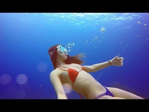 帶老外朋友去綠島自由潛水 Freediving Green Island Taiwan Clearest Water In Asia