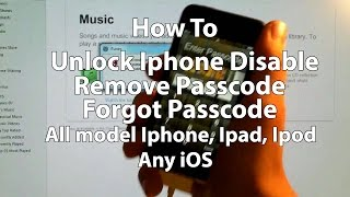 how to removereset any disabled or password locked iphones 65s5c54s43gsipad or ipod