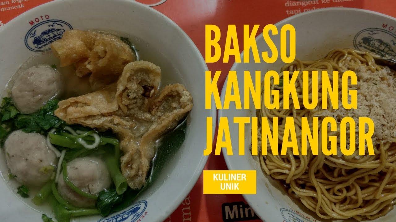 Kuliner Unik Mie Bakso Kangkung Jatinangor