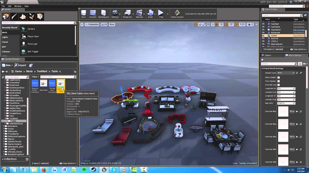 Ark Dev Kit Tutorials: Creating A Structure