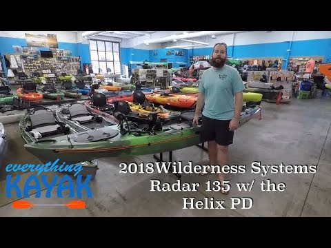 2018 Wilderness Systems Radar 135 with the Helix PD