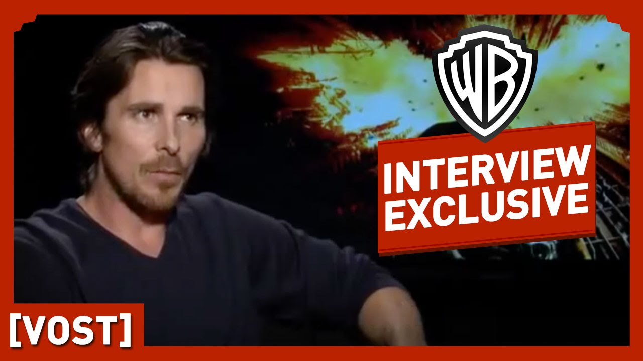 Batman : The Dark Knight Rises - Interview Christian Bale - Christian Bale / Christopher Nolan