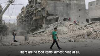 Ahmad and the struggles of being an humanitarian worker in Aleppo