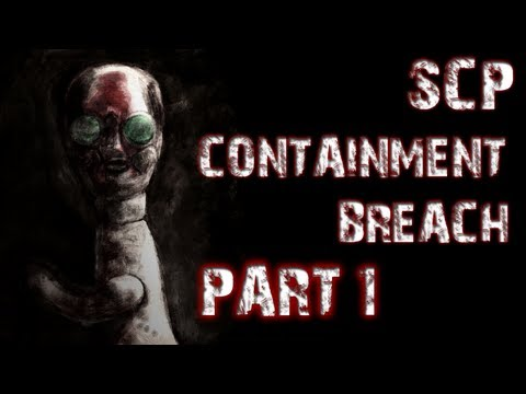 SCP Containment Breach | Part 1 | A TERRIFYING START