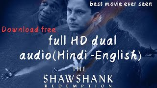 (HD) Download movie The Shawshank redemption dual audio.