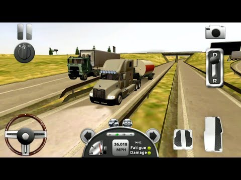 Truck Simulator 3D #2 - Big Truck Driving - Android Gameplay FHD